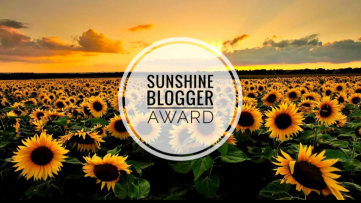 'The Sunshine Blogger award,