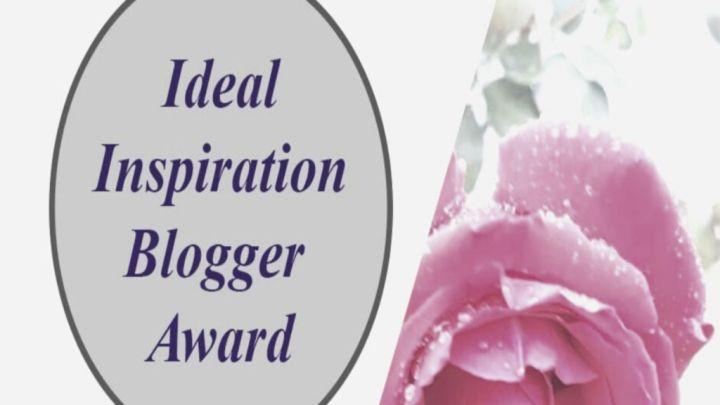 'Ideal Inspiration BloggerAward,