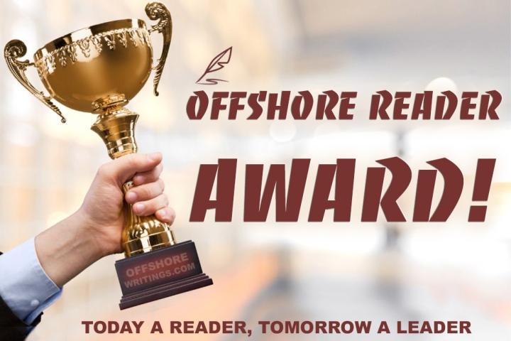 'Offshore Reader Award#2,