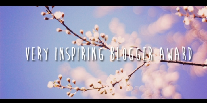 'Very Inspiring Blogger Award,