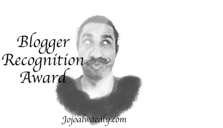 'Blogger Recognition Award,